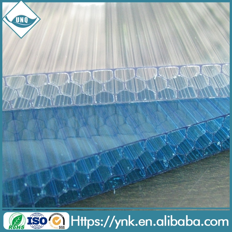 Alusign environmental decorative materials high quality acm plastic honeycomb board production line