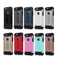 2016 new Air Cushioned Dual Layer Protective Cover Slim Armor Combo case for iPhone 6 6s case