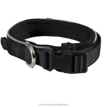 Black cool dog collar pet accessory dog collar and leash