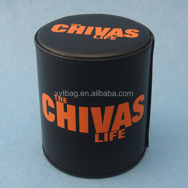 Wholesale Custom Classical Leather Dice Cup For Bar