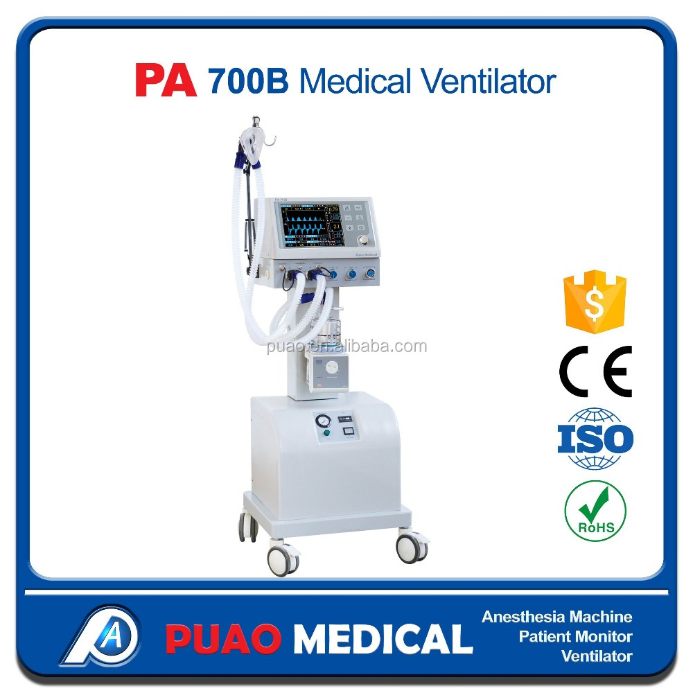 Chinese supplier price medical equipment for ICU Medical Ventilator PA-700B