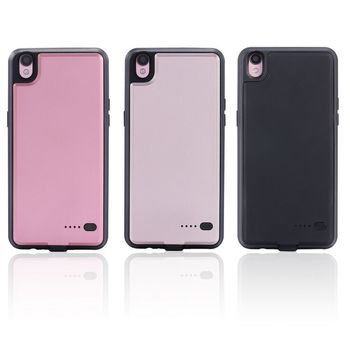 6000Mah Portable Charging Case Extended Case Battery For oppo R9S