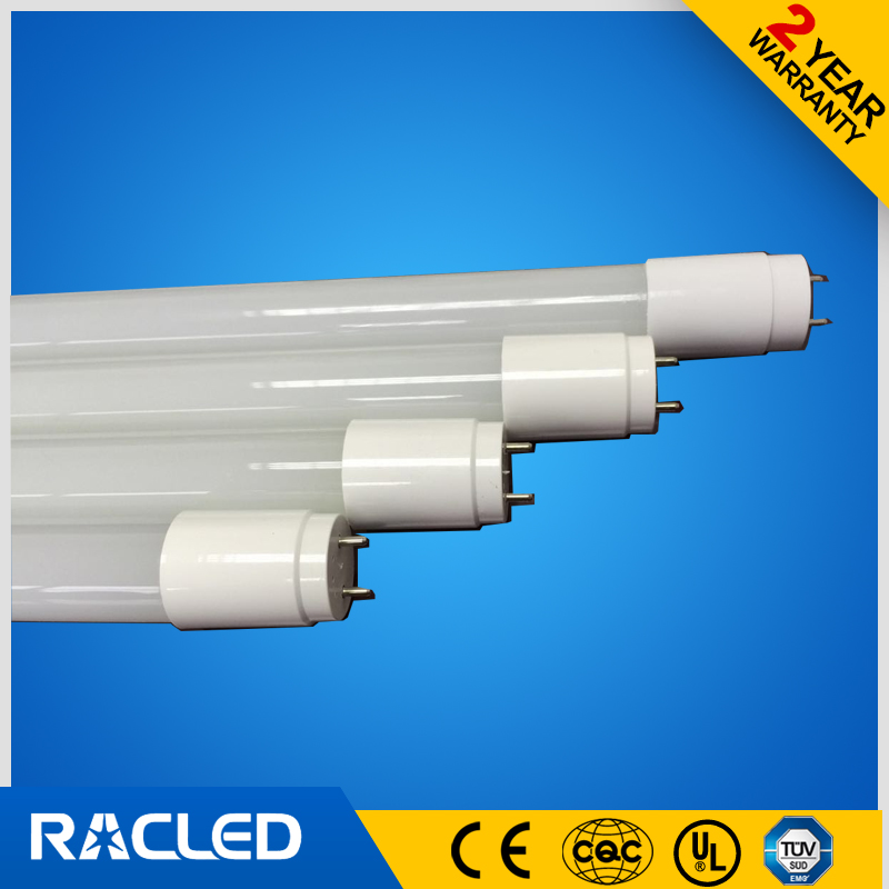 LED T8 tube 9W replacing fluorescent lamp 20W