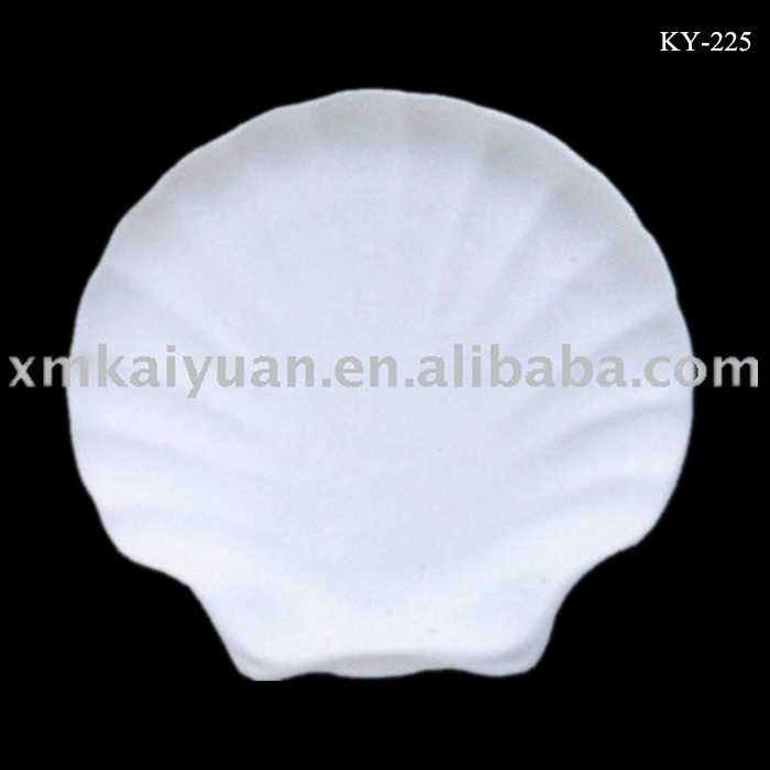 10 inch ceramic dinnerware seafood fine china white plates