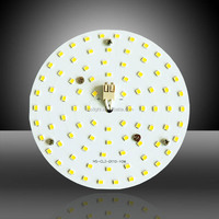Newest AC 230V led ceiling light round pcb board module for indoor house/commercial lighting retrofiting projects