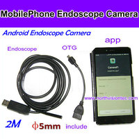 High quality !! 5.5mm USB Endoscope USB Wire Camera IP66 Waterproof Inspection Camera Borescope