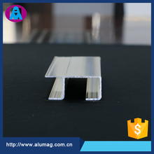 Customized extrusions aluminum profiles section h shape