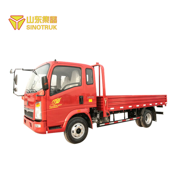 Howo sinotruk small cargo truck 4x2 10t cargo truck dimensions
