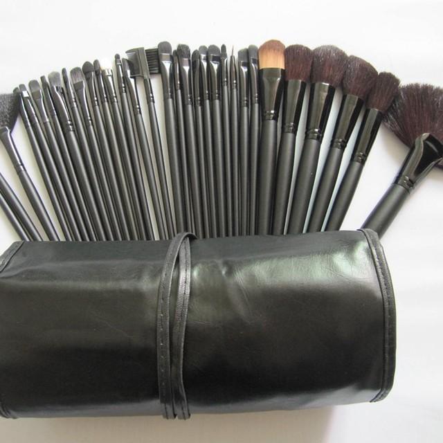 32 pcs Goat Hair Professional Makeup Brush Set