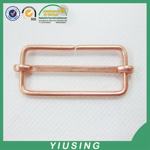 High quality suspender brass nickle free brass plating metal adjustable buckle