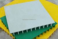 Anti slip fiberglass walkway gratings