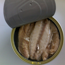 canned mackerel fish in sunflower oil 170g