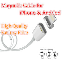 New Product 2016 Hot selling mini Magnetic Micro Usb Data Chargine Cable for iphone