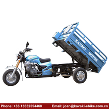 China Open Body Type Gas Fuel 3 Wheel Motor Tricycle With Cargo Box BIke in Tricycle on Sale