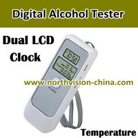 Dual LCD digital wine alcohol content tester