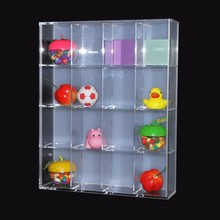 Clear Acrylic Cosmetic Boxes Lego Display Case Doll Mini Figtures Display Holder