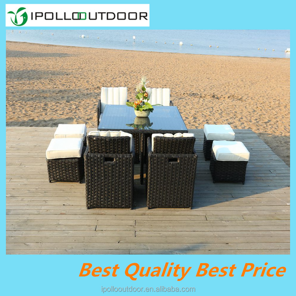 2016 High Quality Powder Coated Outdoor Garden Furniture