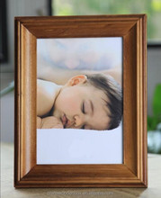 ShanDong manufacturer wholesale funia love picture photo frame designs high quality light brown photo frame with