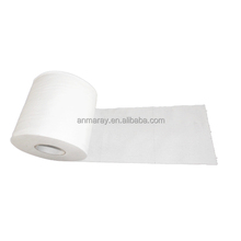 2 ply white recycled tissue paper toilet roll