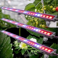 2016 Wholesale Waterproof led grow light strip 110W 180W 220W Dusty Proof Greenhouse/Farm/Garden Use led Grow Bar