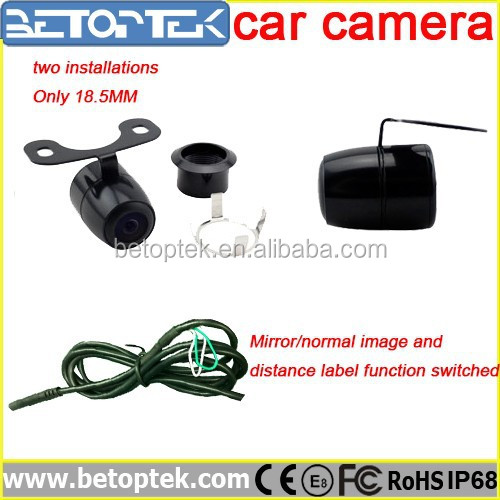 Car Front and Rear Camera For Universal Cars