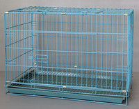 Pet Carrier Dog Cage Home Crate Kennel Cat Folding Portable Tray 605