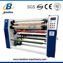 Tape jumbo roll rewinding cutting masking tape making machine