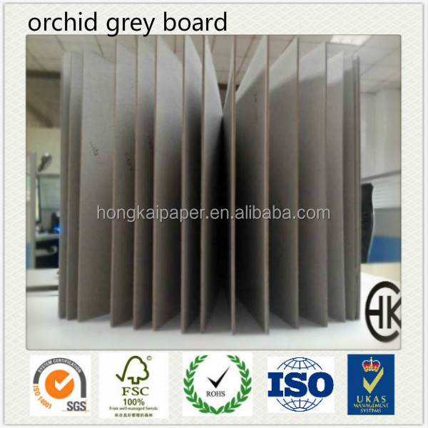 AA+ top grade grey book binding board laminated paper for book