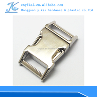 high quality YiKai 1/2'' bags metal buckles Curved side release buckles