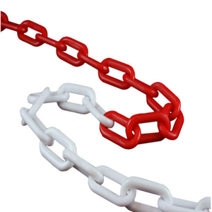 Plastic Road Warning Chain PE plastic safety chain