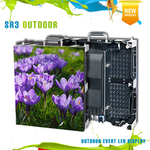 New design rental outdoor led display screen full color p4 .81 outdoor Floor Standing Rotate LED advertising rental led panel