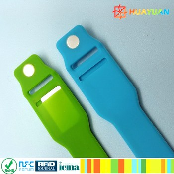 ShangHai HUAYUAN WS28 Wearable Payment Silicone Wristband
