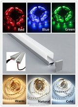 Top Quality Recessed Extrusion LED Aluminium Profile for 3528 120leds Led Strip Lights Bar