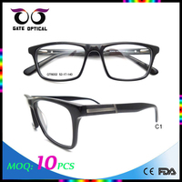 2016 High Quality Good Price Most Popular Eyewear Optical Frames ,Gate Optical small MOQ 10pcs,Ready Goods Men Acetate Frames