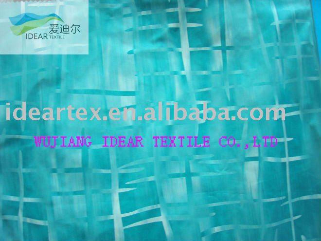 Polyeser Jacquard Memory Fabric For Coat