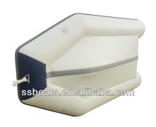 Sunshine small Inflatable Fishing Sport boat with Aluminium floor