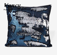 2016 mermaid reversible sequin pillow cushion Two Tone Color Changing Sequin Throw Pillow 18 inch square