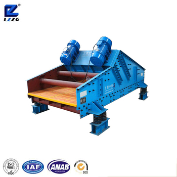 TS series sand dewatering screen with polyurethane mesh for mining use