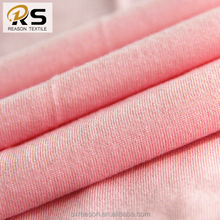 Shaoxing factory wholesale 32s cotton fabric jersey knit fabric for garmt t-shirt