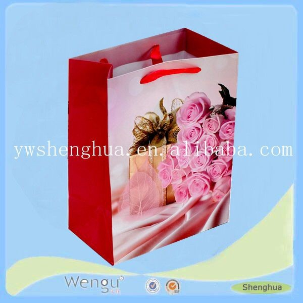 china factory design fancy cheapest indian gift bag