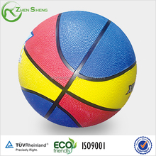 Shanghai Zhensheng custom logo promotion basketball