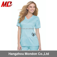 Factory wholesale custom polyester/cotton hospital work clothing
