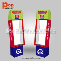 Peg hook cardboard display stand for gifts