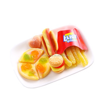 French fries chip gummi jelly Halal fast food gummy candy sweets