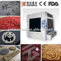 Laser Carving and Cutting Carpets Machine