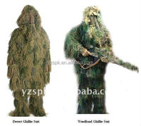 camo ghillie suit,camouflage hunting clothing,hunting clothing