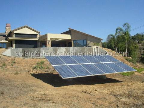 1KW 5KW 10KW high efficiency complete home use / solar system off grid for home 5KW / solar electric for lights in home