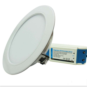 2.4G RGB+CCT LED Downlight 6W 12W Mi light AC85V-265V Led panel light Round dimmable reccessed light with remote controller