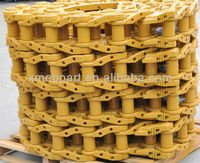 bulldozer D65 lubricated/salt or dry track chain assembly track link assy