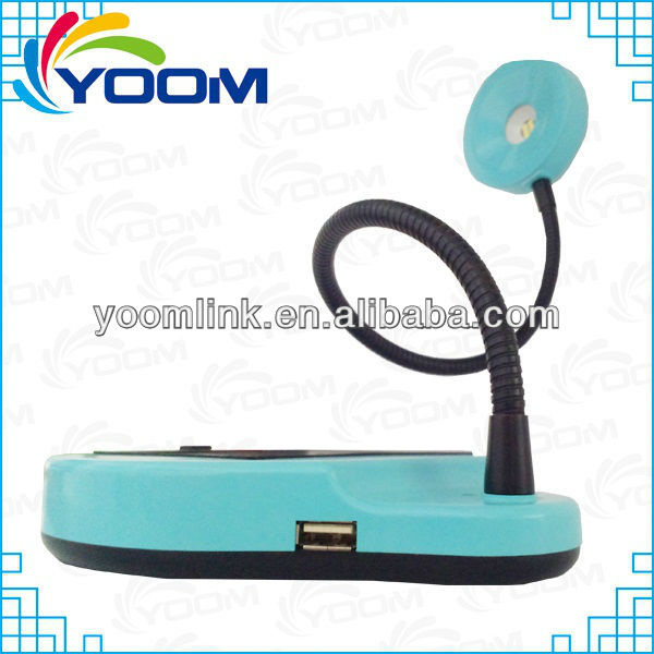 YMC-L08A 2013 New popular USB charge foldable ultra bright led desk lamps
